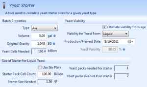Yeast Starter Tool