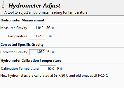 Adjusting Hydrometer Readings for Temperature when Beer Brewing